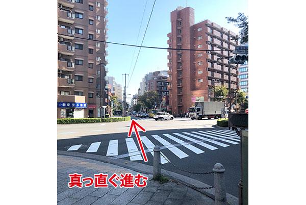 大通り(尾久橋通り)